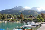 Gallery - location - Talloires port